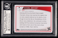 Daniel Bryan Signed 2013 Topps WWE #9 (BGS Encapsulated) at PristineAuction.com
