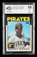 Barry Bonds 1986 Topps Traded #11T RC (BCCG 10) at PristineAuction.com