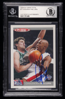 Chauncey Billups Signed 2004-05 Topps Total #7 (BGS Encapsulated) at PristineAuction.com