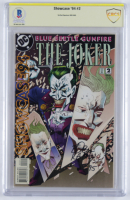 "Bob Kane signed 1994 ""The Joker"" Issue #2 DC Comic Book Inscribed ""95"" (CBCS Encapsulated) at PristineAuction.com"