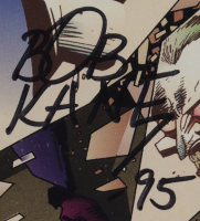 """Bob Kane signed 1994 """"The Joker"""" Issue #2 DC Comic Book Inscribed """"95"""" (CBCS Encapsulated) at PristineAuction.com"""