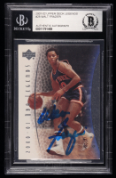 Walt Frazier Signed 2001-02 Upper Deck Legends #28 (BGS Encapsulated) at PristineAuction.com