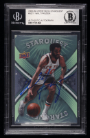 Walt Frazier Signed 2008-09 Upper Deck Starquest #SQ11 (BGS Encapsulated) at PristineAuction.com
