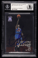 Chauncey Billups Signed 1998-99 SkyBox Molten Metal #61 (BGS Encapsulated) at PristineAuction.com