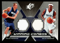 Dirk Nowitzki / Jason Terry 2005-06 SPx Winning Materials Combos #NT at PristineAuction.com