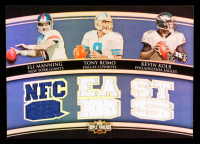 Eli Manning / Tony Romo / Kevin Kolb 2010 Topps Triple Threads Relic Combos #TTRC6 at PristineAuction.com