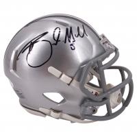 Braxton Miller Signed Ohio State Buckeyes Speed Mini Helmet (JSA COA) at PristineAuction.com