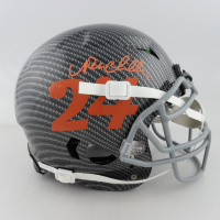 Nick Chubb Signed Full-Size Authentic On-Field Hydro-Dipped Vengeance Helmet (Beckett COA) at PristineAuction.com