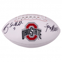 """Braxton Miller Signed Ohio State Buckeyes Logo Football Inscribed """"Spin Move!"""" (JSA COA) at PristineAuction.com"""