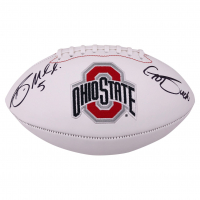 "Braxton Miller Signed Ohio State Buckeyes Logo Football Inscribed ""Go Bucks!"" (JSA COA) at PristineAuction.com"