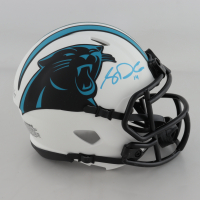 Sam Darnold Signed Panthers Lunar Eclipse Alternate Speed Mini Helmet (Beckett COA) at PristineAuction.com