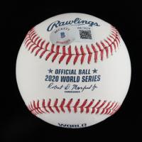 Walker Buehler Signed 2020 World Series Baseball (Beckett Hologram) at PristineAuction.com