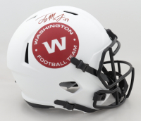 Terry McLaurin Signed Washington Full-Size Lunar Eclipse Alternate Speed Helmet (Beckett Hologram) (See Description) at PristineAuction.com