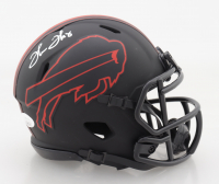 Thurman Thomas Signed Bills Eclipse Alternate Speed Mini Helmet (JSA COA) at PristineAuction.com