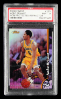 Kobe Bryant 1998-99 Finest No Protectors Refractors #175 (PSA 9) at PristineAuction.com