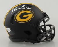 Ahman Green Signed Packers Eclipse Alternate Speed Mini-Helmet (Beckett COA) at PristineAuction.com