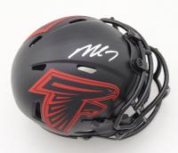 Michael Vick Signed Falcons Eclipse Alternate Speed Mini Helmet (JSA COA) at PristineAuction.com