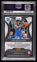 Zion Williamson 2019-20 Panini Prizm Draft Picks Prizms Blue #64 (PSA 10) at PristineAuction.com