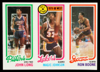 John Long / Magic Johnson All-Star / Ron Boone 1980-81 Topps #111 at PristineAuction.com