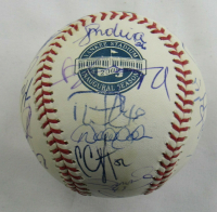 2009 Yankees OML Yankee Stadium Inaugural Season Baseball Team-Signed by (24) with Joe Girardi, Nick Swisher, AJ Burnett, Mark Teixeira, Chien Ming (JSA LOA) at PristineAuction.com