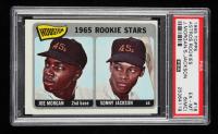 Joe Morgan / Sonny Jackson 1965 Topps #16 Rookie Stars RC DP (PSA 6) (MC) at PristineAuction.com