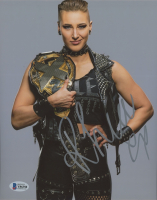 Rhea Ripley Signed WWE 8x10 Photo (Beckett COA) at PristineAuction.com