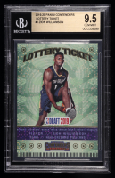 Zion Williamson 2019-20 Panini Contenders Lottery Ticket #1 (BGS 9.5) at PristineAuction.com