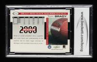 Tom Brady 2000 Score #316 RC (BCCG 10) at PristineAuction.com