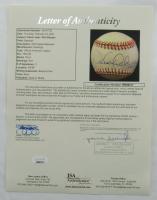 Derek Jeter & Phil Rizzuto Signed OAL Baseball (JSA LOA) (See Description) at PristineAuction.com