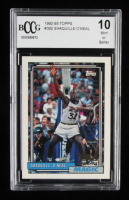 Shaquille O'Neal 1992-93 Topps #362 RC (BCCG 10) at PristineAuction.com