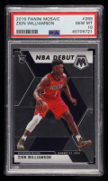 Zion Williamson 2019-20 Panini Mosaic #269 (PSA 10) at PristineAuction.com