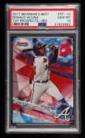 Ronald Acuna 2017 Bowman's Best Top Prospects #TP10 Refractor (PSA 10) at PristineAuction.com