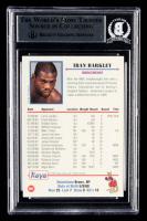 Iran Barkley Signed 1991 Kayo #67 (BGS Encapsulated) at PristineAuction.com