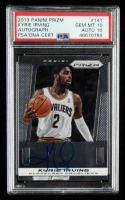 Kyrie Irving 2013-14 Panini Prizm Autographs #141 (PSA Authentic) at PristineAuction.com