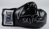 "Vinny Pazienza Signed Everlast Boxing Glove Inscribed ""5x!"" (Schwartz COA) at PristineAuction.com"