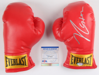 Mike Tyson Signed Pair of Everlast Boxing Gloves (PSA COA) at PristineAuction.com