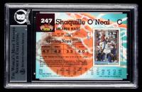 Shaquille O'Neal Signed 1992-93 Stadium Club #247 RC (BGS Encapsulated) at PristineAuction.com
