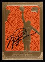 Michael Jordan 1994-00 Bleachers 23 Karat Gold #60 Fleer BK Texture Black Sig at PristineAuction.com