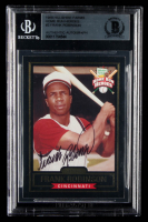 Frank Robinson Signed 1999 Hillshire Farms Home Run Heroes Autographs #3 (BGS Encapsulated) at PristineAuction.com
