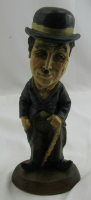 Vintage Charlie Chaplin Esco Chalkware Tuscany Statue at PristineAuction.com
