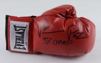 "Vinny Pazienza Signed Everlast Boxing Glove Inscribed ""5x Champ"" (Schwartz COA) at PristineAuction.com"