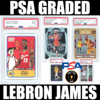 Mystery Ink PSA Graded LeBron James Card! - 1 Graded LeBron James Card In Every Pack! Only 150 Packs! at PristineAuction.com