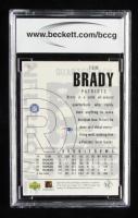 Tom Brady 2000 UD Black Diamond #126 RC (BCCG 10) at PristineAuction.com
