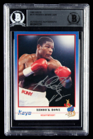 Riddick Bowe Signed 1991 Kayo #171 (BGS Encapsulated) at PristineAuction.com