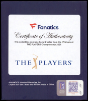 2021 Players Championship Crystal Golf Ball - Filled with Tournament-Used 17th Hole Hazard Water from the 2021 Players Championship (Fanatics COA) at PristineAuction.com
