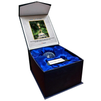 2021 Players Championship Crystal Golf Ball - Filled with Tournament-Used 17th Hole Bunker Sand from the 2021 Players Championship (Fanatics COA) at PristineAuction.com