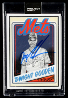 "Dwight ""Doc"" Gooden Signed 2020 Topps Project 2020 #65 / Mister Cartoon (Schwartz COA) at PristineAuction.com"