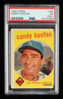 Sandy Koufax 1959 Topps #163 (PSA 7) (MC) at PristineAuction.com