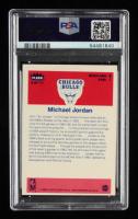 Michael Jordan 1986-87 Fleer Stickers #8 (PSA 8) (OC) at PristineAuction.com