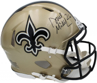 Deuce McAllister Signed Saints Full-Size Authentic On-Field Speed Helmet (Radtke COA) at PristineAuction.com